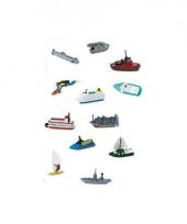 Kleine speelgoed bootjes set