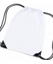 Kleine witte gymtasjes