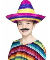 Kleurige mexico sombrero voor kids