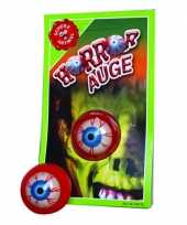 Kleverig halloween oog