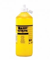 Knijpfles met gele verf 500 ml