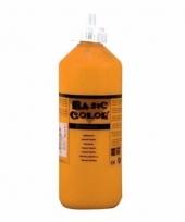 Knijpfles met oranje verf 500 ml