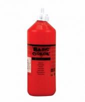 Knijpfles met rode verf 500 ml