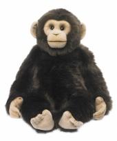 Knuffel aap chimpansee 40 cm