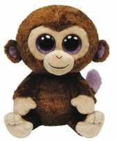 Knuffel beanie boo apen 42 cm