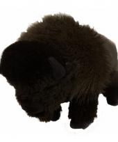 Knuffel bizon bruin 30 cm