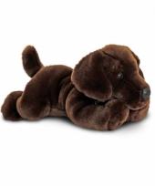 Knuffel labrador pup bruin 30 cm