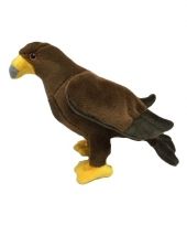 Knuffel vogel steenarend 17 cm