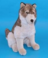 Knuffel wolf van 45 cm