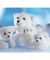 Knuffelbeest ijsbeer 26 cm