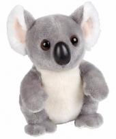 Knuffelbeesten koala zittend 18 cm