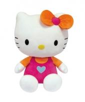 Knuffeldier hello kitty roze 50 cm