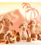 Knuffeldier kameel abdul 15 cm