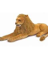 Knuffeldier leeuw 110 cm