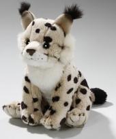 Knuffeldier lynx 16 cm