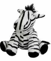 Knuffeldier zebra 19 cm