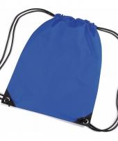 Kobalt blauwe kleine gymtasjes