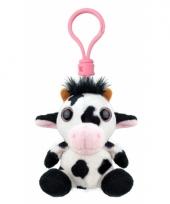 Koe sleutelhangertje 9 cm