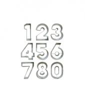 Koekjes bakvorm cijfers