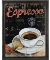 Koffie thema schilderij espresso