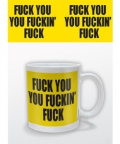 Koffiebeker fuck you