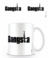 Koffiebeker gangsta maffia thema