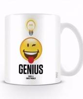 Koffiebeker genius such a smiley world