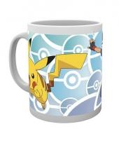 Koffiebeker pokemon ash en pikachu