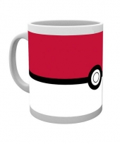 Koffiebeker pokemon pokebal