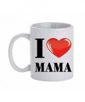 Koffiemok i love mama keramiek 300 ml