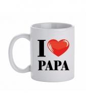 Koffiemok i love papa keramiek 300 ml