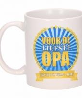 Koffiemok opa ik hou van jou keramiek 300 ml