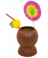 Kokosnoten bekers
