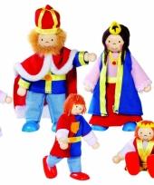 Konings poppen 6 stuks