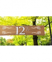 Koperen banner 12 5