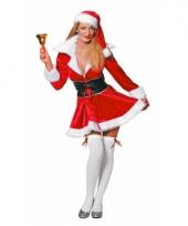 Kort kerst jurkje voor vrouwen