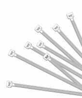Korte tiewraps wit 100 stuks 10091109