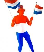 Kostuum nederlandse vlag