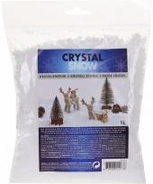 Kristal sneeuwvlokken 1 liter