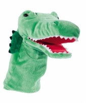 Krokodil handpop 33 cm
