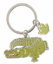Krokodil sleutel hangertje 5 cm