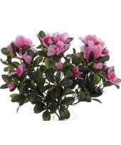 Kunst azaleaplant roze 20 cm