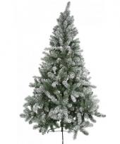 Kunst kerstboom besneeuwd 150 cm