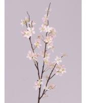 Kunstbloem appelbloesem tak roze 84 cm