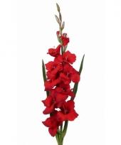 Kunstbloem rode gladiool