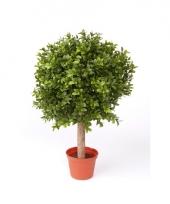 Kunstplant buxus bol in pot 36 cm