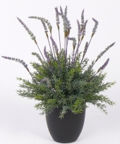 Kunstplant lavendel in pot 30 cm