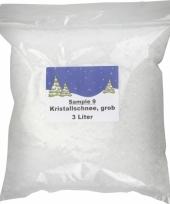 Kunstsneeuw kristal zak 3 liter