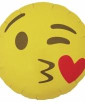 Kus emoticon folie ballon 46 cm
