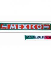 Landen supporter sjaal mexico